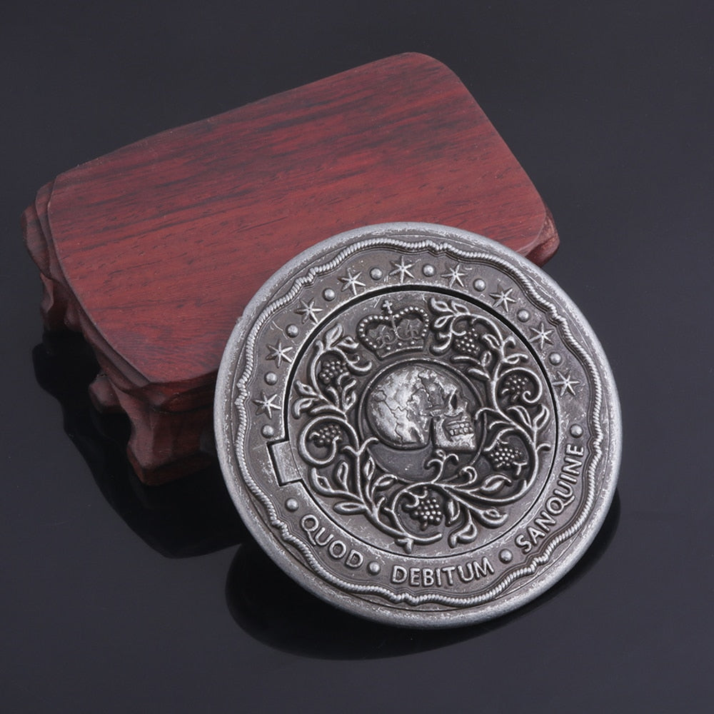 Movie John Wick - Blood Contract - Oath Marker Coin - Film Prop Replica - Cosplay Prop