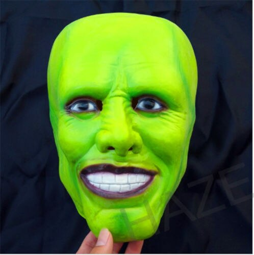 "The Mask (1994) - Iconic & Unforgettable Headwear - ""It's Party Time"" - Jim Carrey - Movie Prop Replica"