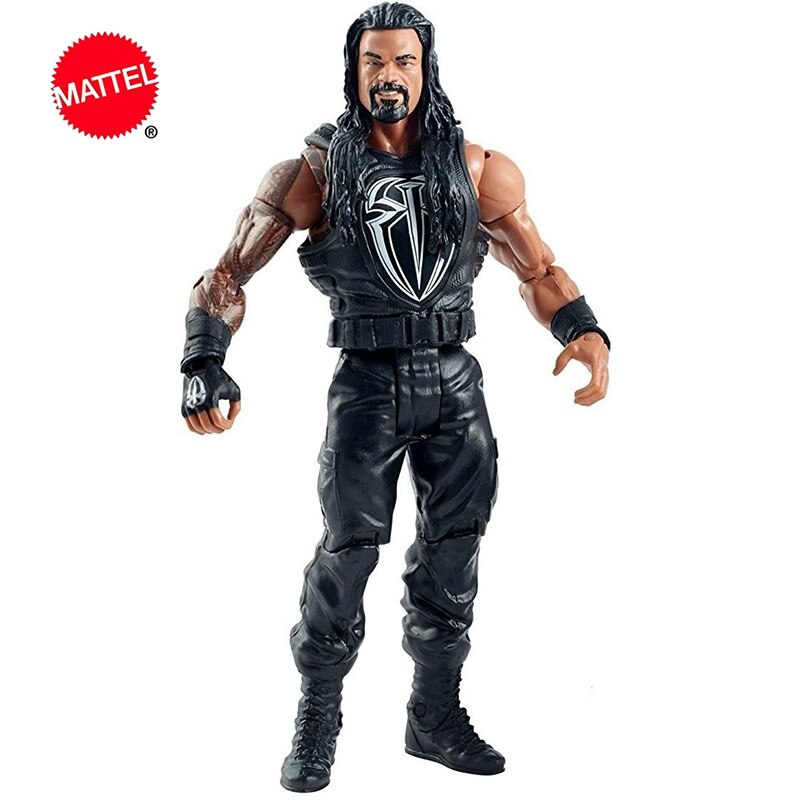 Mattel WWE Super mobile Series Roman Reigns Wrestlers Doll 6 Inch Action Figure Model Kids Toys Birthday Gift