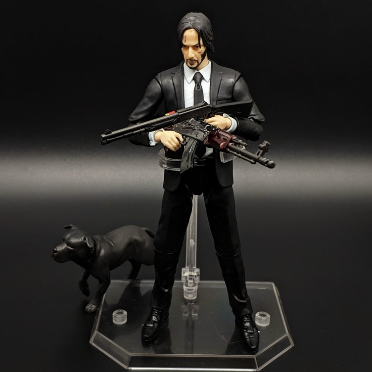 17cm Movie JOHN WICK Action Figure MAFEX NO.070 JOHN WICK PVC Movable Collection of Toy Gifts