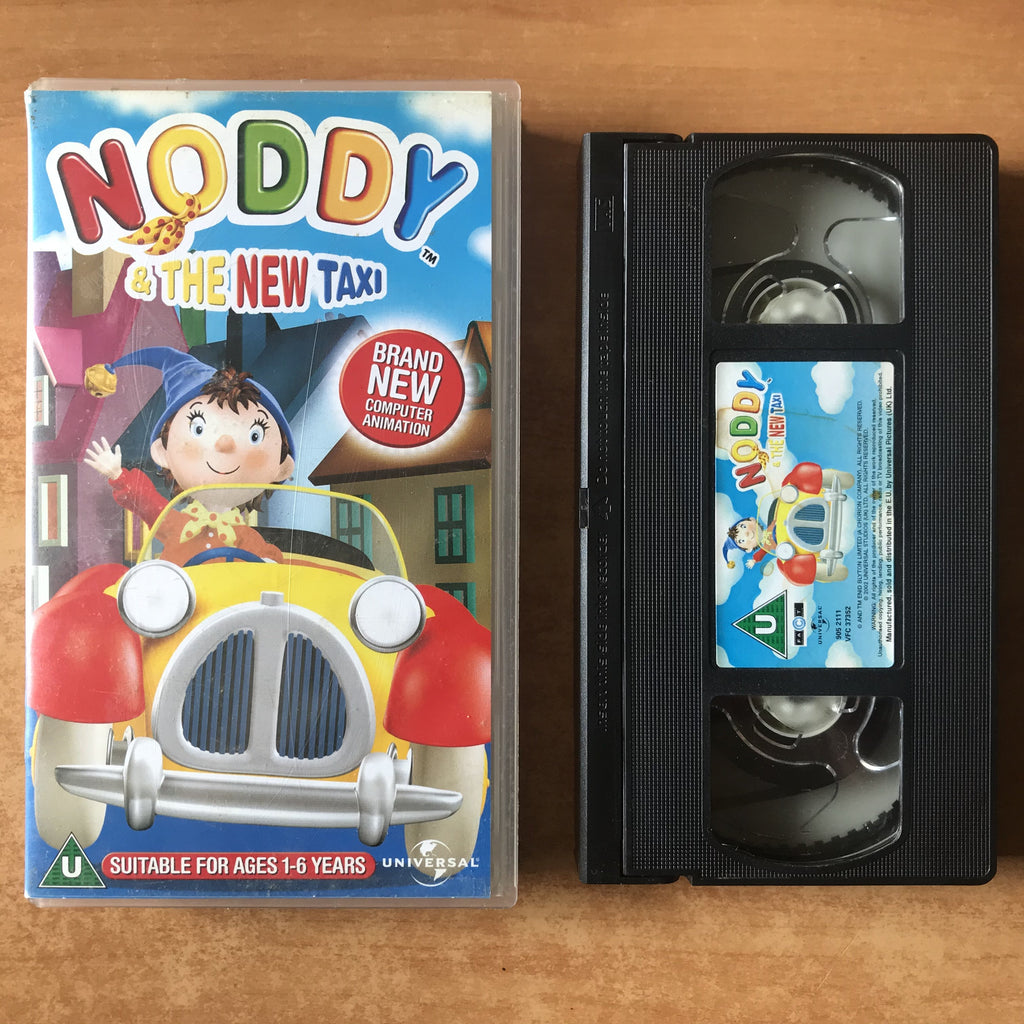 Noddy And The New Taxi: (Ages 1-6) New 3D CGI Animated (2002) 65 Min VHS