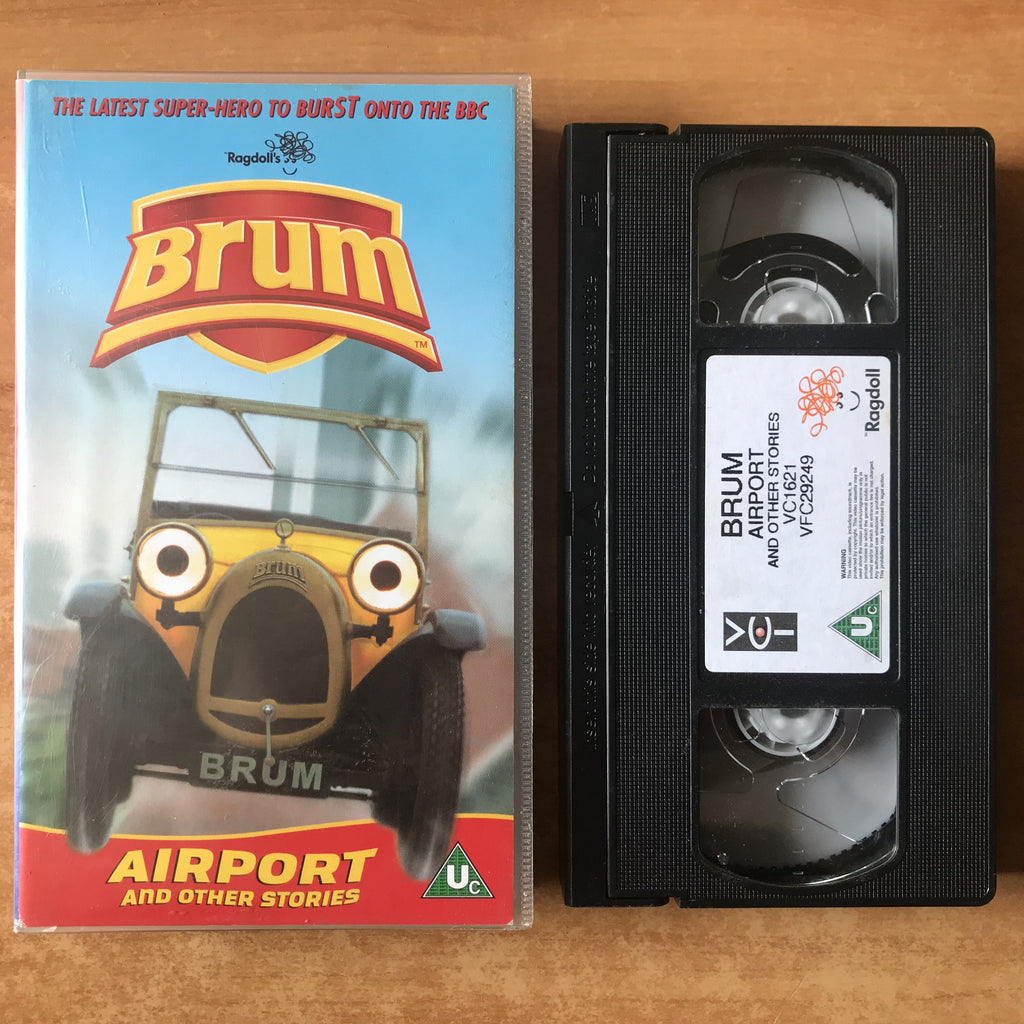 Brum: Airport; Naughty Dog - Gymnast (1989-2001 Ragdoll) - Children's - VHS