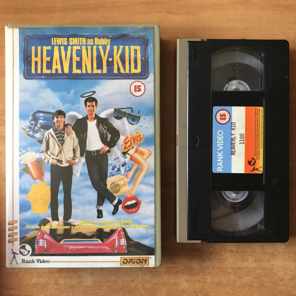 Heavenly Kid: (1985) Action Comedy - Lewis Smith - Large Box Orion - Pal VHS