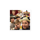 BTS meme bubble-free stickers
