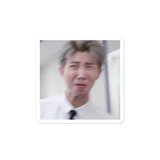 Namjoon meme bubble-free stickers