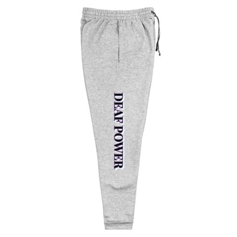 Deaf Power Unisex Joggers