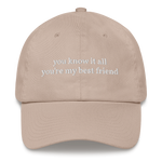 Spring Day Lyrics dad hat