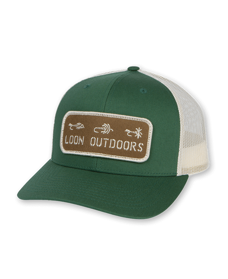 Loon X David Rollyn Felt Patch Hat