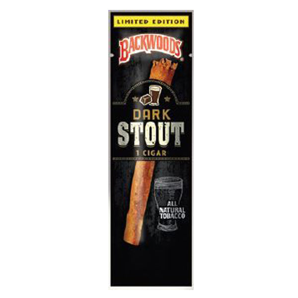Backwoods Dark Stout Single Pack - Bulldog420 Best Head Shop UK