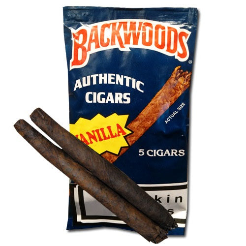 Backwoods Vanilla (Blue) 5 Pack - Bulldog420 Best Head Shop UK