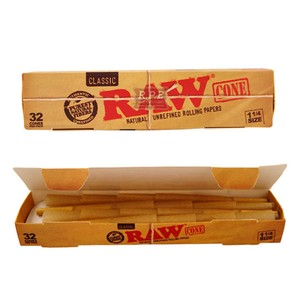 RAW Kingsize Classic Cones - 32 Pack - Bulldog420 Best Head Shop UK