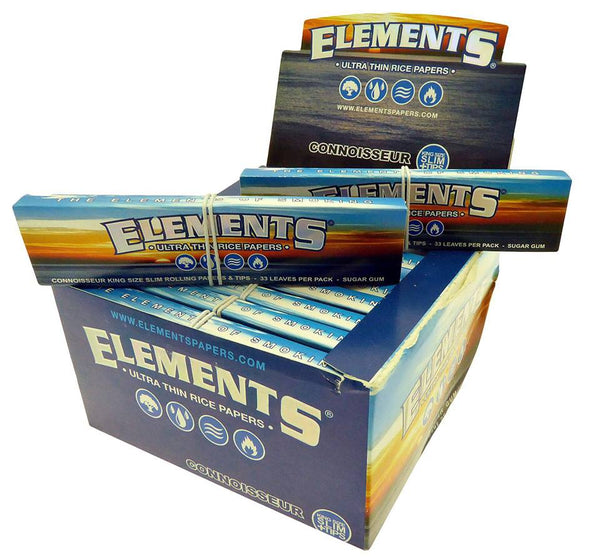 Box of Elements Connoisseurs Papers - Bulldog420 Best Head Shop UK
