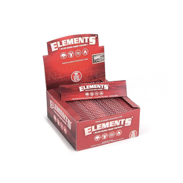 Box of Elements Kingsize Slowburn Papers - Bulldog420 Best Head Shop UK