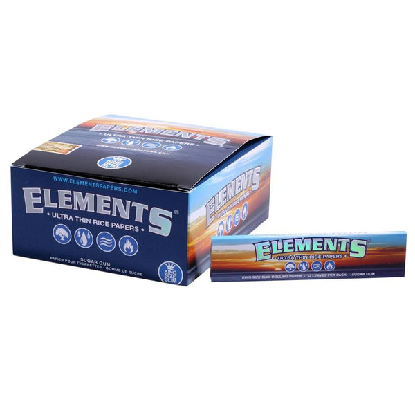 Box of Elements Kingsize Papers - Bulldog420 Best Head Shop UK