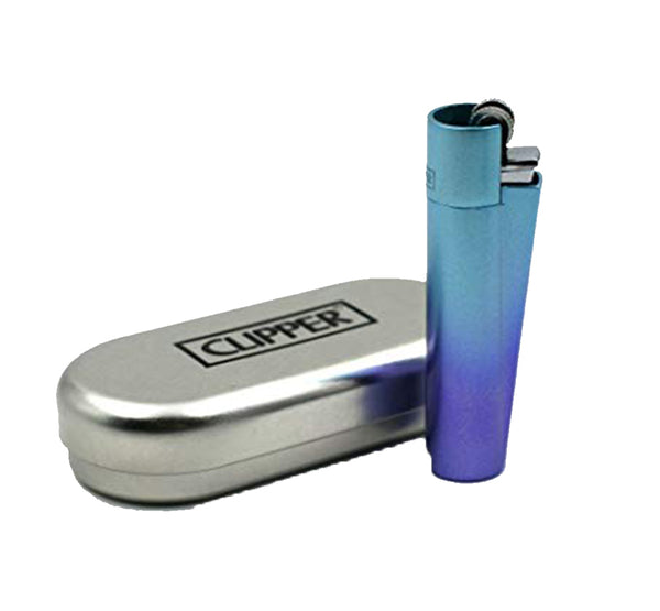 Clipper Metal Gasoline Lighters - Bulldog420 Best Head Shop UK