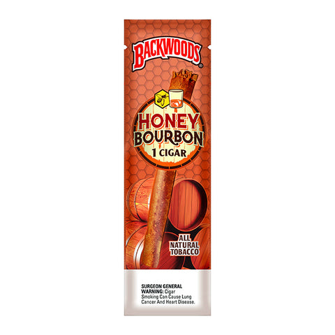 Backwoods Honey Bourbon Single Pack - Bulldog420 Best Head Shop UK