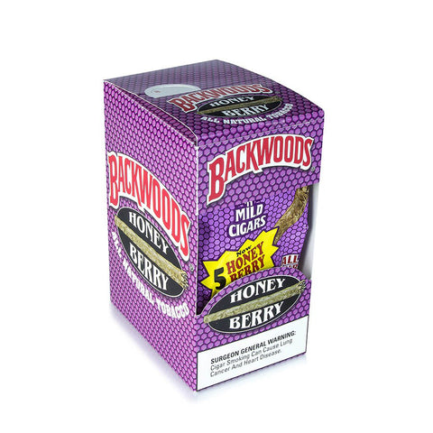 Backwoods Honey Berry 5 Pack