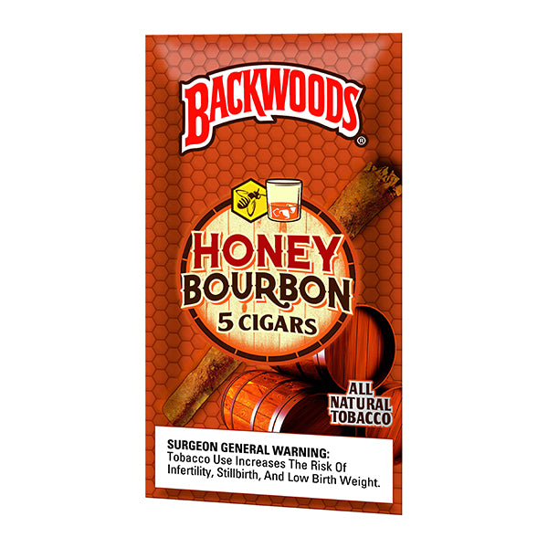 Backwoods Honey Bourbon 5 Pack - Bulldog420 Best Head Shop UK