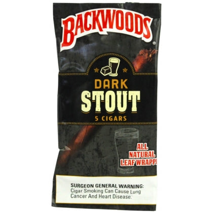 Backwoods Dark Stout 5 Pack - Bulldog420 Best Head Shop UK