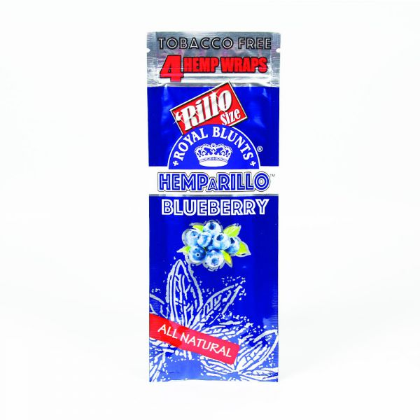Royal Hemparillo Blunts Blueberry - Bulldog420 Best Head Shop UK