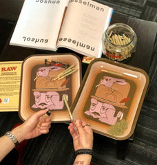 Raw Jeremy Fish Rolling Tray - Bulldog420 Best Head Shop UK