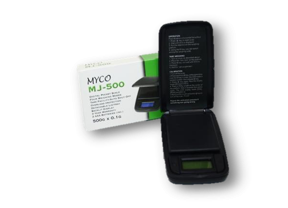 Myco MJ-500 Digital Scales - Bulldog420 Best Head Shop UK