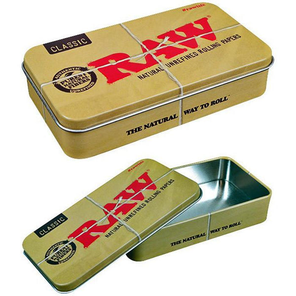 Raw Classic Tin - Bulldog420 Best Head Shop UK