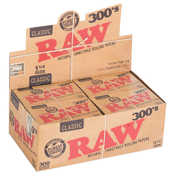 Raw Natural 300's - Bulldog420 Best Head Shop UK