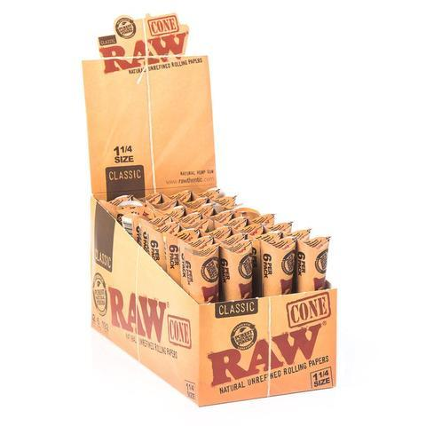Raw Classic Pre Rolled Cone 1 1/4 - Bulldog420 Best Head Shop UK