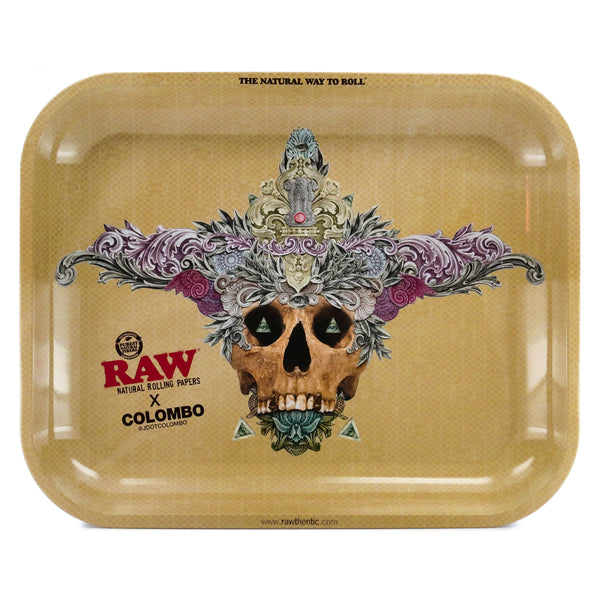 Raw Columbo Tray | Large - Bulldog420 Best Head Shop UK