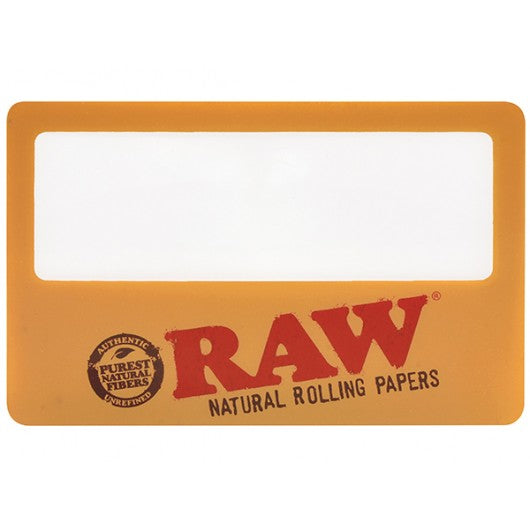 Raw Magnifying Card - Bulldog420 Best Head Shop UK