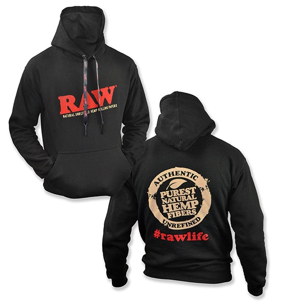 Raw Black Poker Hoodie - Bulldog420 Best Head Shop UK