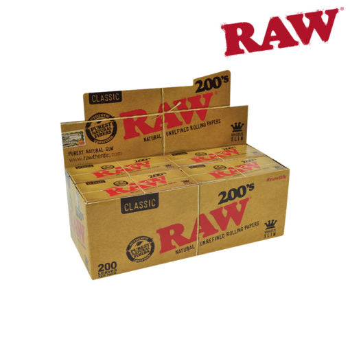 Raw Natural 200's - Bulldog420 Best Head Shop UK
