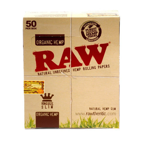 Raw Organic King Size - Bulldog420 Best Head Shop UK