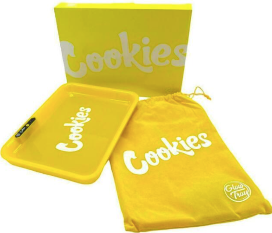 Cookies Glow Tray - Yellow LED
