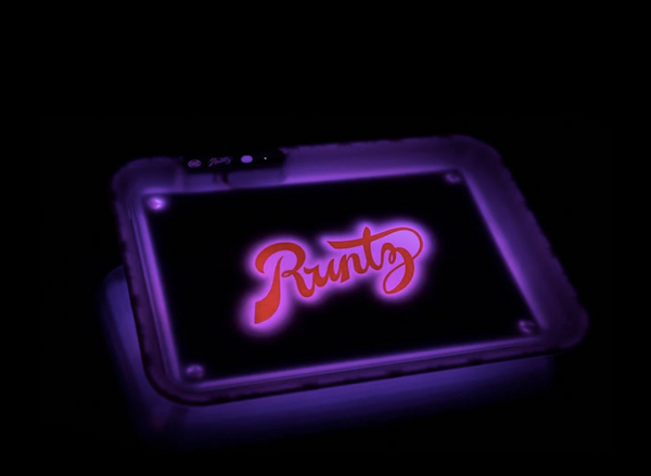 Runtz x Glow Tray Rolling Tray - Bulldog420 Best Head Shop UK