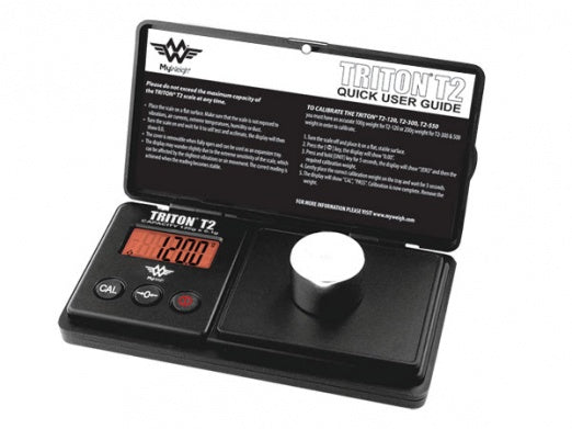 My Weigh Triton T2-120 Digital Scales with cover - Bulldog420 Best Head Shop UK