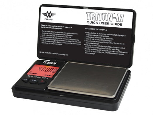 My Weigh Triton Mini - Mini Digital Scales with cover - Bulldog420 Best Head Shop UK