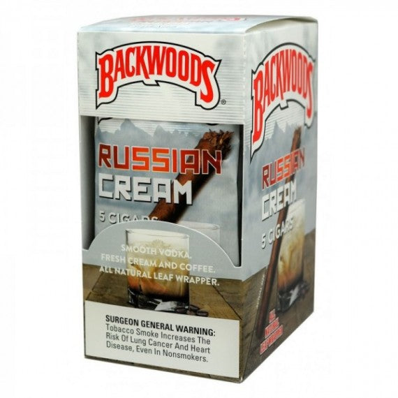 Backwoods Russian Cream 5 Pack - Bulldog420 Best Head Shop UK