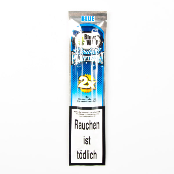 Blunt Wraps Platinum Blue - Bulldog420 Best Head Shop UK