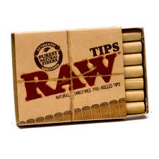 Raw Pre Rolled Tips - Bulldog420 Best Head Shop UK