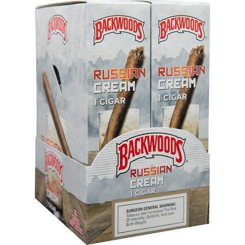Backwoods Russian Cream Single Pack - Bulldog420 Best Head Shop UK