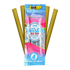 Twisted Hemp Wraps Tropical Breeze - Bulldog420 Best Head Shop UK