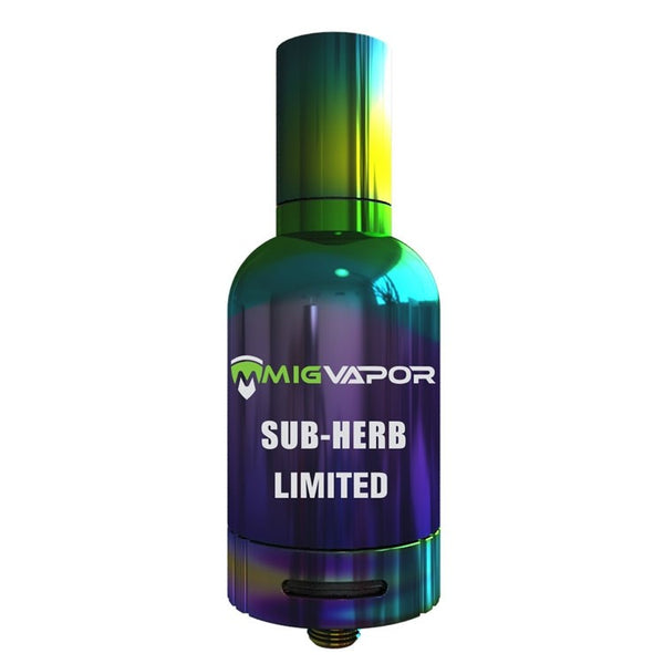 Black Sub-Herb Vaporizer: The Dry Herb and Dabs Tank Limited Edition - Bulldog420 Best Head Shop UK