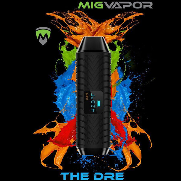 DRAY/DRE Dry Herb Vaporizer by MIG Vapor - Bulldog420 Best Head Shop UK