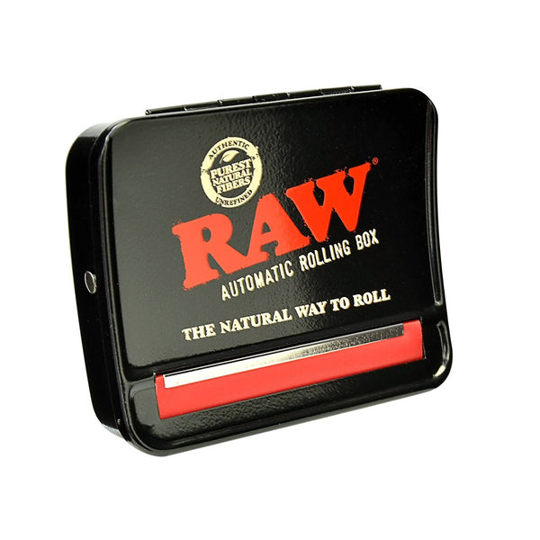 Raw 79mm Auto Roll Box - Bulldog420 Best Head Shop UK