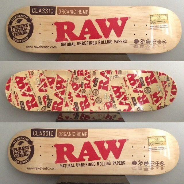 RAW Skate Board S7 Standard - Bulldog420 Best Head Shop UK