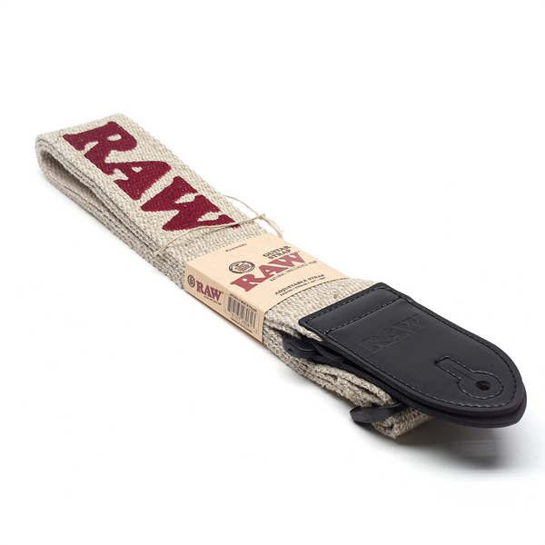 Raw Hemp Guitar Strap - Bulldog420 Best Head Shop UK