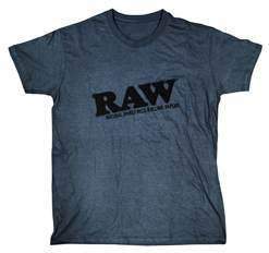 Raw Grey T shirt - Bulldog420 Best Head Shop UK