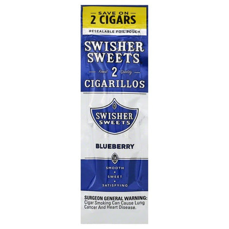 Swisher Sweets Blueberry Cigarillo - Bulldog420 Best Head Shop UK